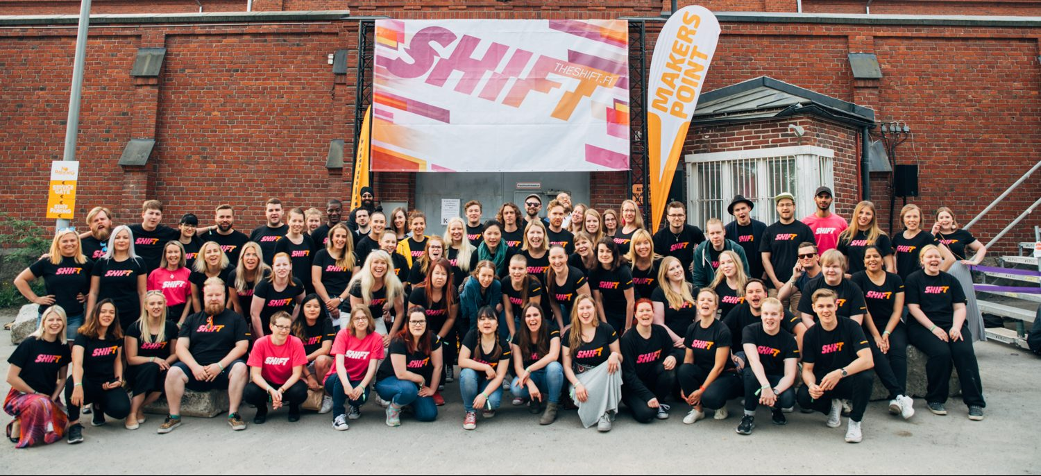 SHIFT Volunteers 2018